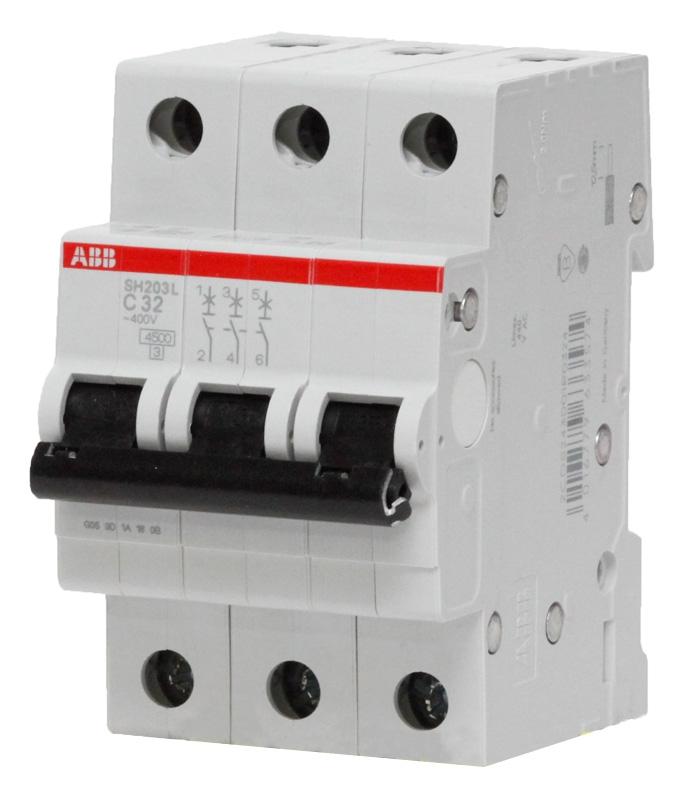 Купить Выключатель нагрузки ABB E203, 3х-полюсный 63А