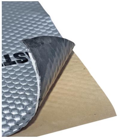 Мембрана виброшумоизоляционная StP Вибропласт Master, 3х470х750 мм