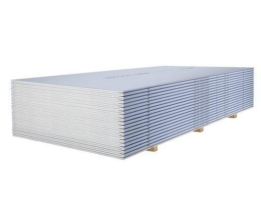 Купить Гипсокартон звукоизоляционный влаго-огнестойкий Кнауф Сапфир, 2500х1200х12.5 мм — Фото №1