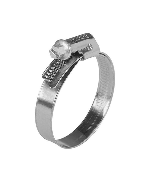 Хомут обжимной 40-60 мм нержавеющая сталь (2 шт)