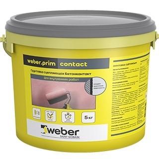 Купить Грунтовка для бетона Weber.Prim Contact, 5 кг — Фото №1