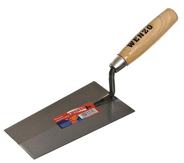 Купить Кельма для плиточных работ трапециевидная, 200 мм