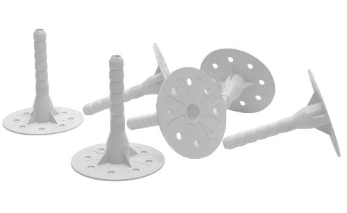 Дюбель-гвоздь тарельчатый 70х10 мм (100 шт)
