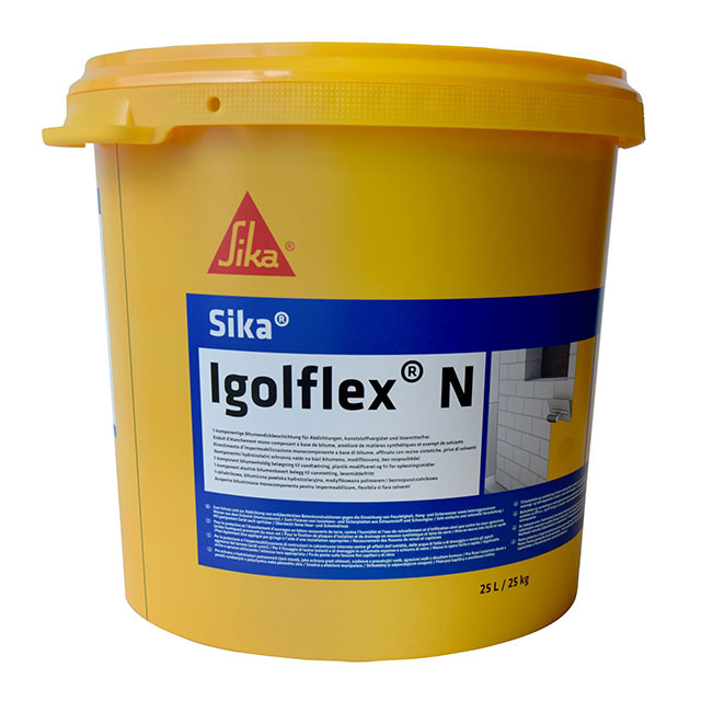 Гидроизоляция Битумная Sika Igolflex N, 25 кг