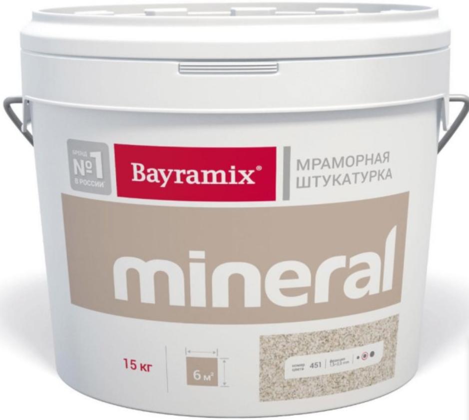Штукатурка декоративная мраморная Bayramix Mineral 362, 15 кг