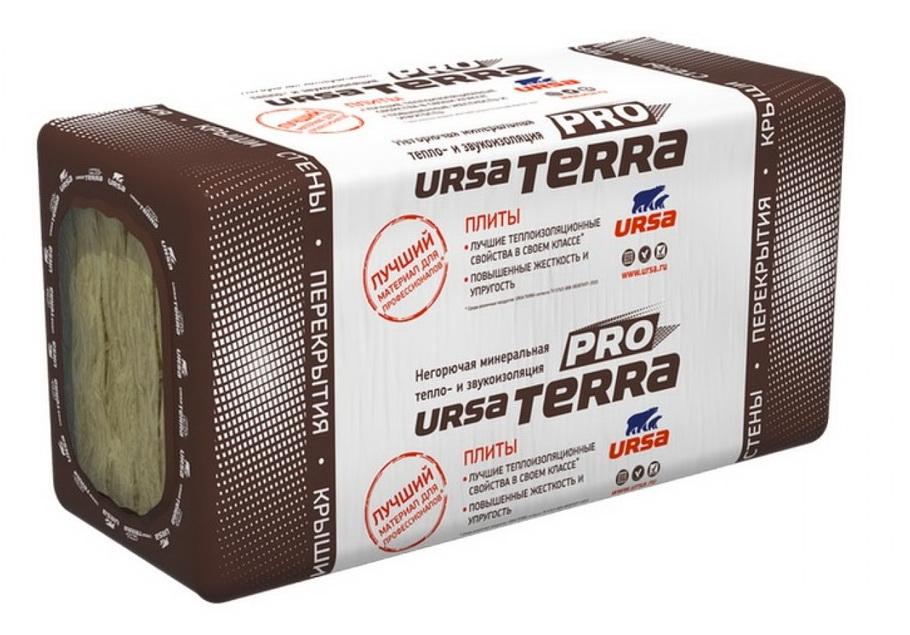 Купить Минеральная вата Ursa Terra 36 PN PRO 1250х610 мм, толщина 100 мм (5 шт/3.81 м²) — Фото №1