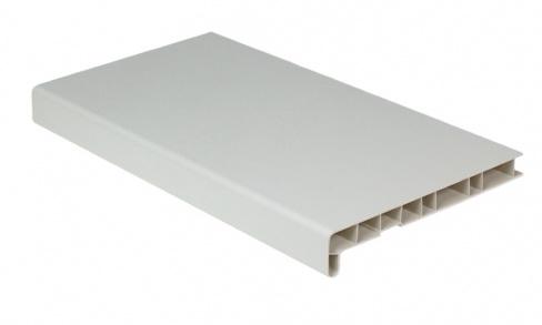Купить Подоконник ПВХ Народный пластик (белый), ширина 15 см — Фото №1