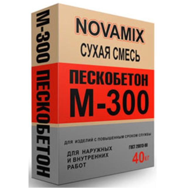 Купить Пескобетон Novamix М300, 40 кг — Фото №1