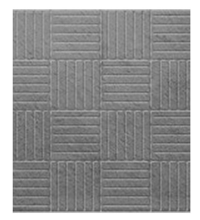 Купить Плитка тротуарная Паркет (серая), 300х300х30 мм — Фото №1