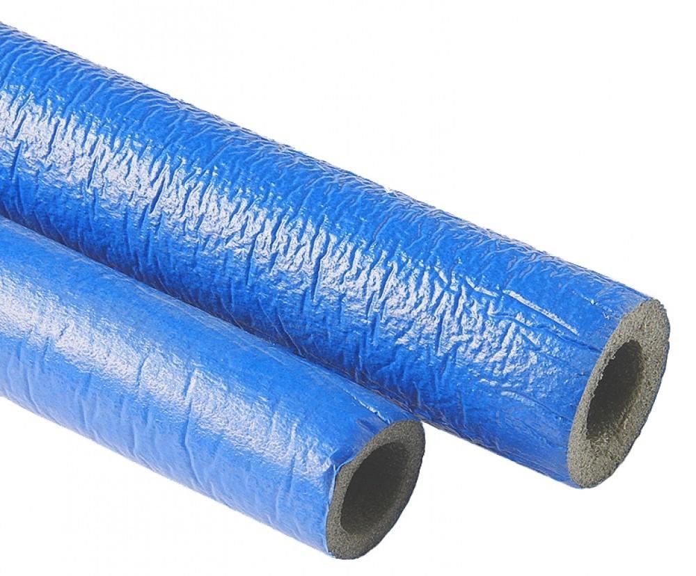 Утеплитель для полипропиленовых труб (синий), 25 мм, длина 2 м