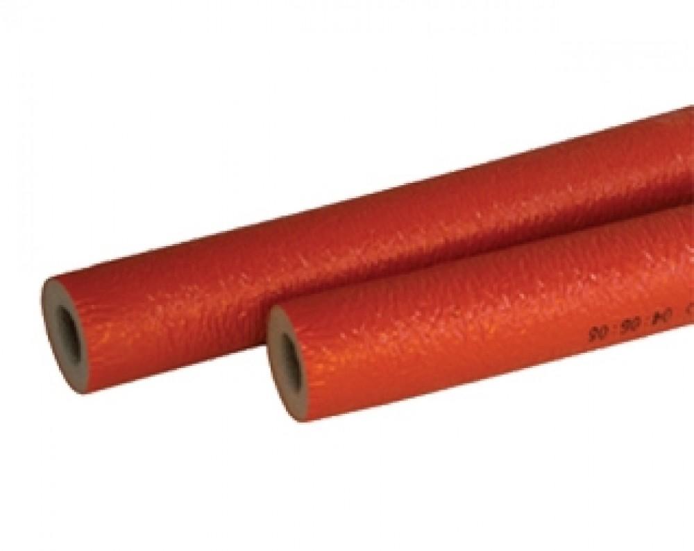 Утеплитель для полипропиленовых труб (красный), 25 мм, длина 2 м