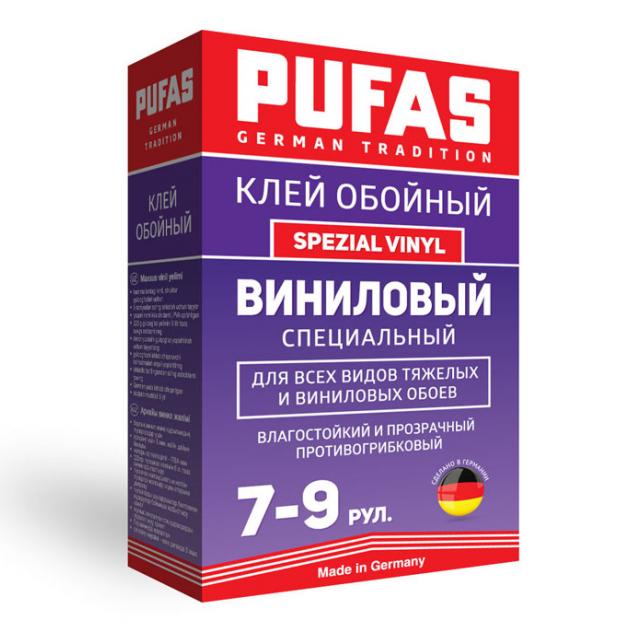 Клей обойный Pufas Spezial Vinyl Виниловый специальный 225 г