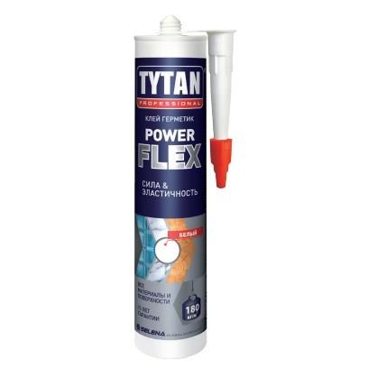 Клей-герметик Tytan Professional Power Flex белый 290 мл