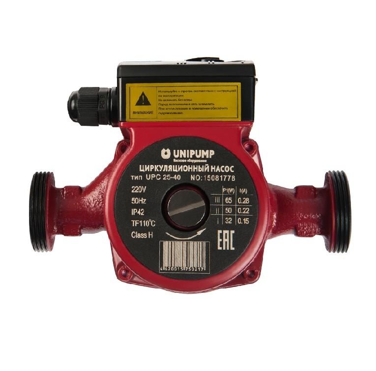 Насос циркуляционный Unipump UPС 25-40 130