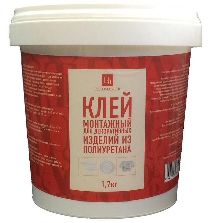 Клей акриловый Decomaster PU 1700 1,7 кг