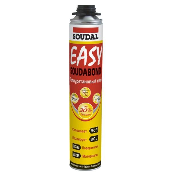 Клей полиуретановый Soudal Soudabond Easy Gun 750мл