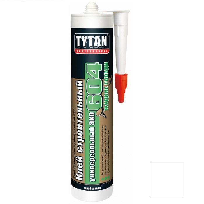 Клей строительный Tytan Professional №604 ЭКО супер-белый 440 г