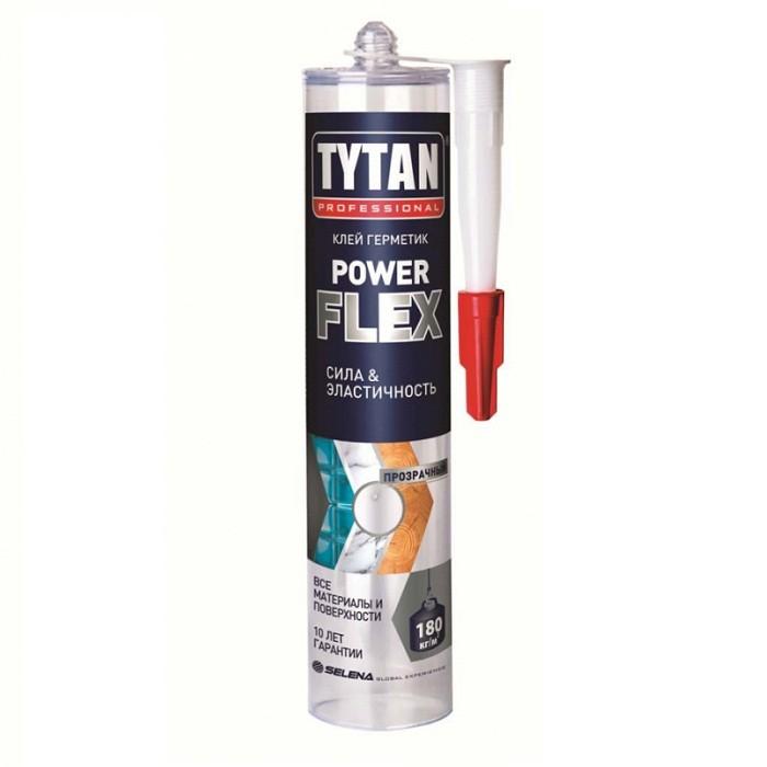 Клей-герметик Tytan Professional Power Flex бесцветный 290 мл
