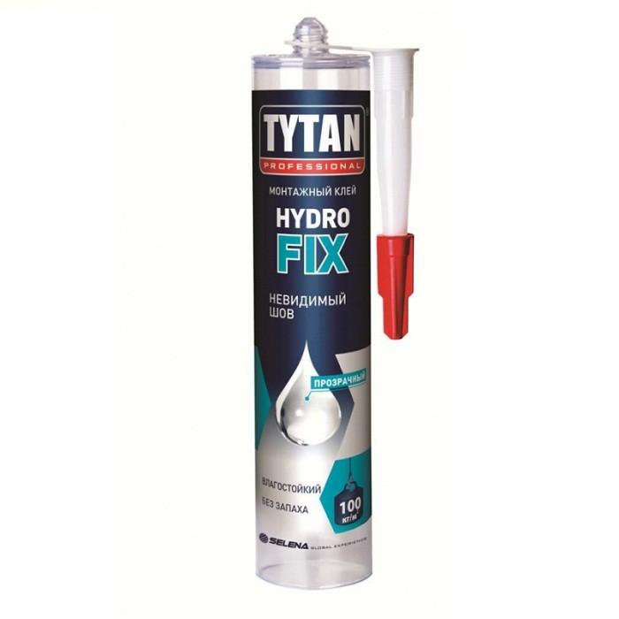 Клей монтажный Tytan Professional Hydrofix общестроительный бесцветный 310 мл