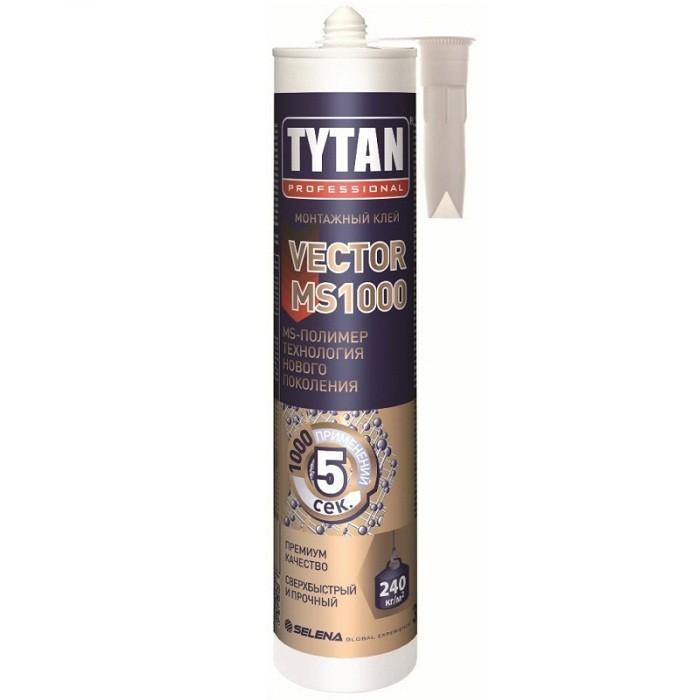 Клей-герметик Tytan Professional Vector MS-1000 кремовый 290 мл