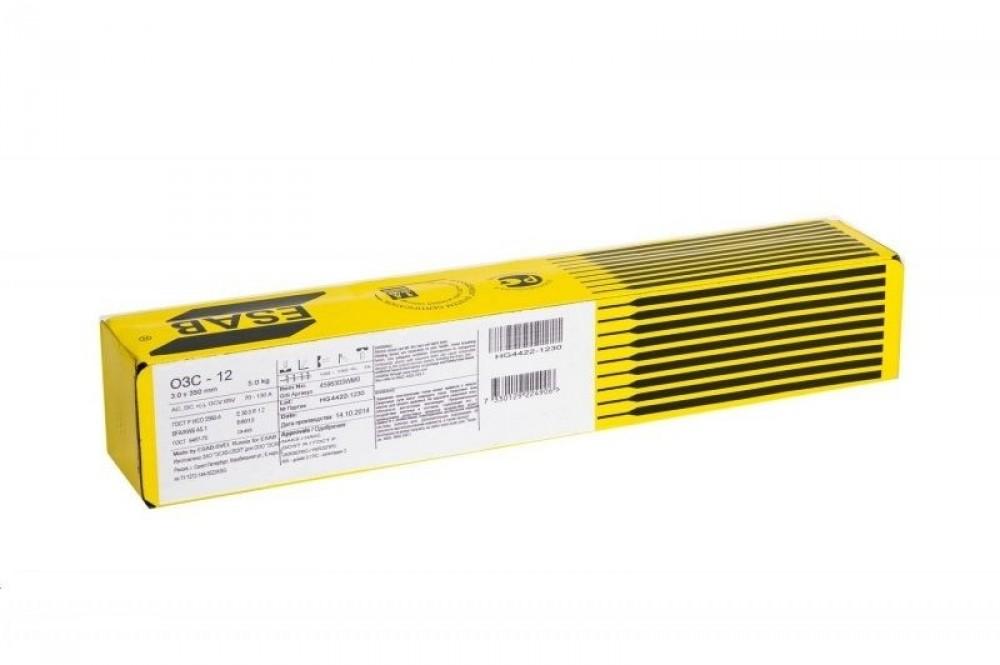 Купить Электроды сварочные ESAB ОЗС-12, диаметр 3 мм (5 кг)