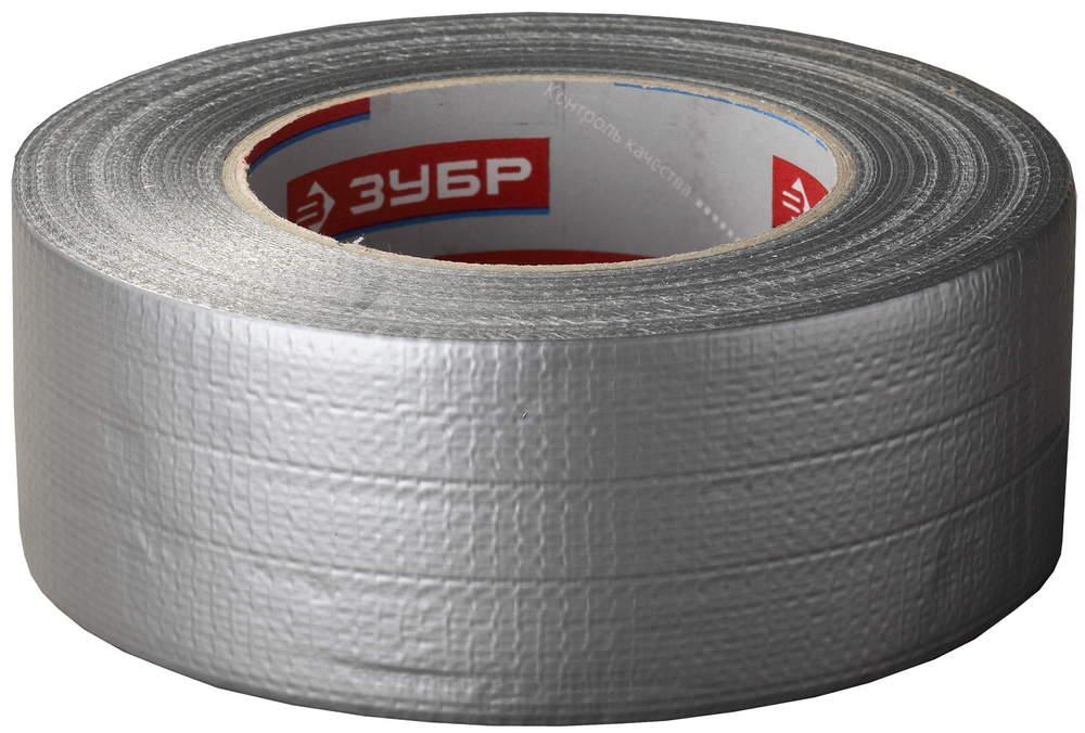 Купить Скотч армированный Зубр Профессионал 48 мм (серый), длина 45 м — Фото №1