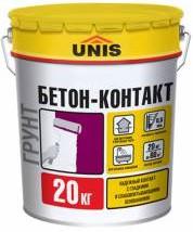 Купить Грунтовка для бетона Unis Бетон-контакт, 20 кг — Фото №1
