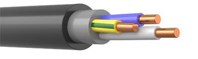ВВГнг(А)-LS 3х6 мм2, Кабель силовой медный