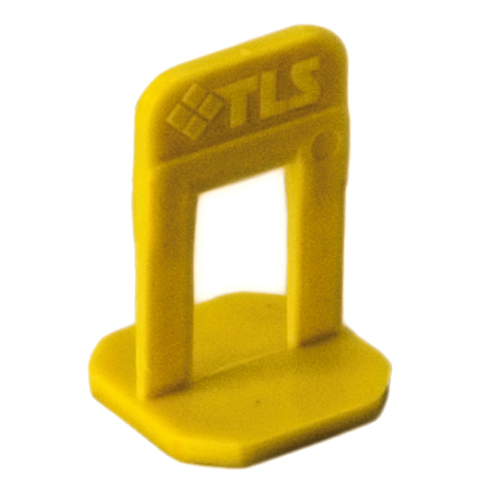 Купить Система выравнивания плитки TLS, Зажим 1 мм (100 штук) — Фото №1