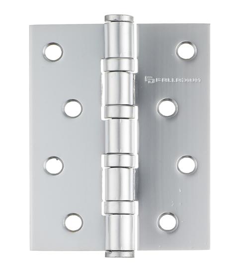 Купить Петля дверная универсальная Palladium N 4BB-100 PC перламутровый хром, 3 мм — Фото №1
