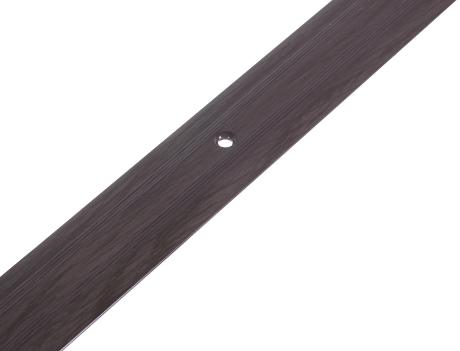 Порог Artens (венге), 30х900 мм, стыкоперекрывающий