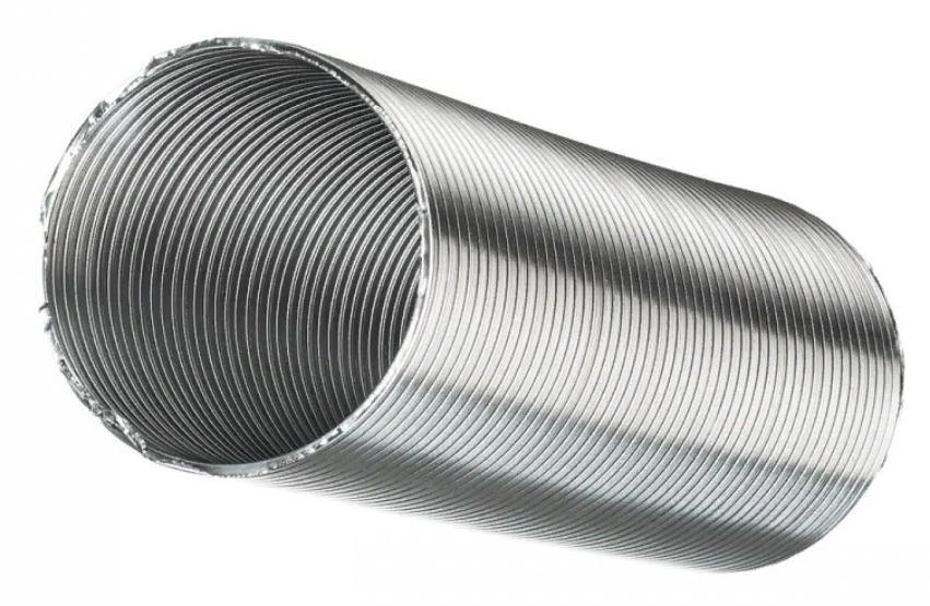 Гибкий гофрированный алюминиевый воздуховод Blauberg Компакт, диаметр 110 мм (3 м)