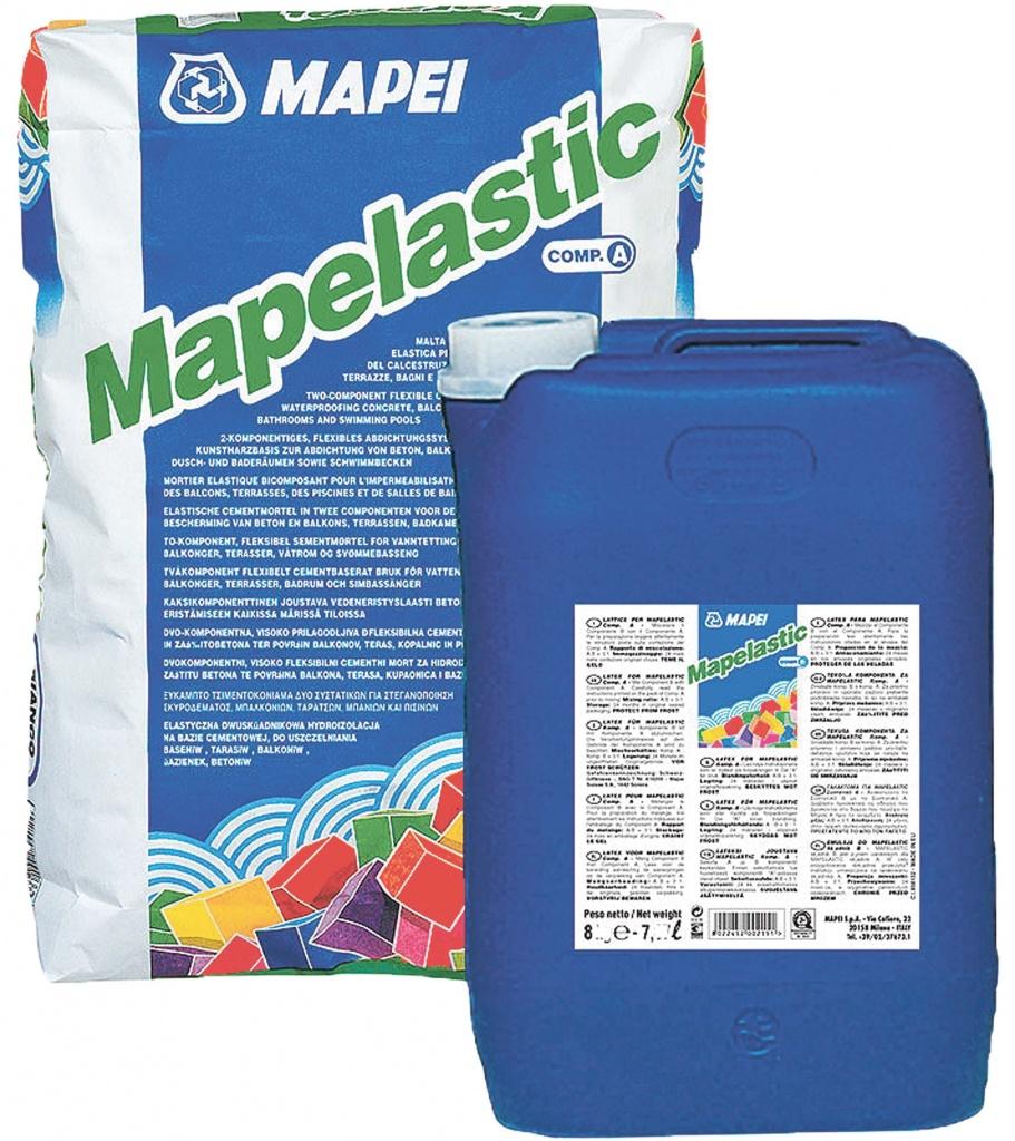 Купить Гидроизоляционный состав Mapei Mapelastic, 32 кг