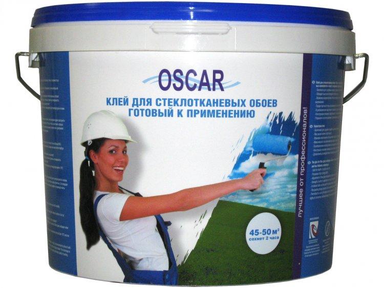 Купить Обойный клей готовый Oscar для стеклообоев, 10 л. — Фото №1