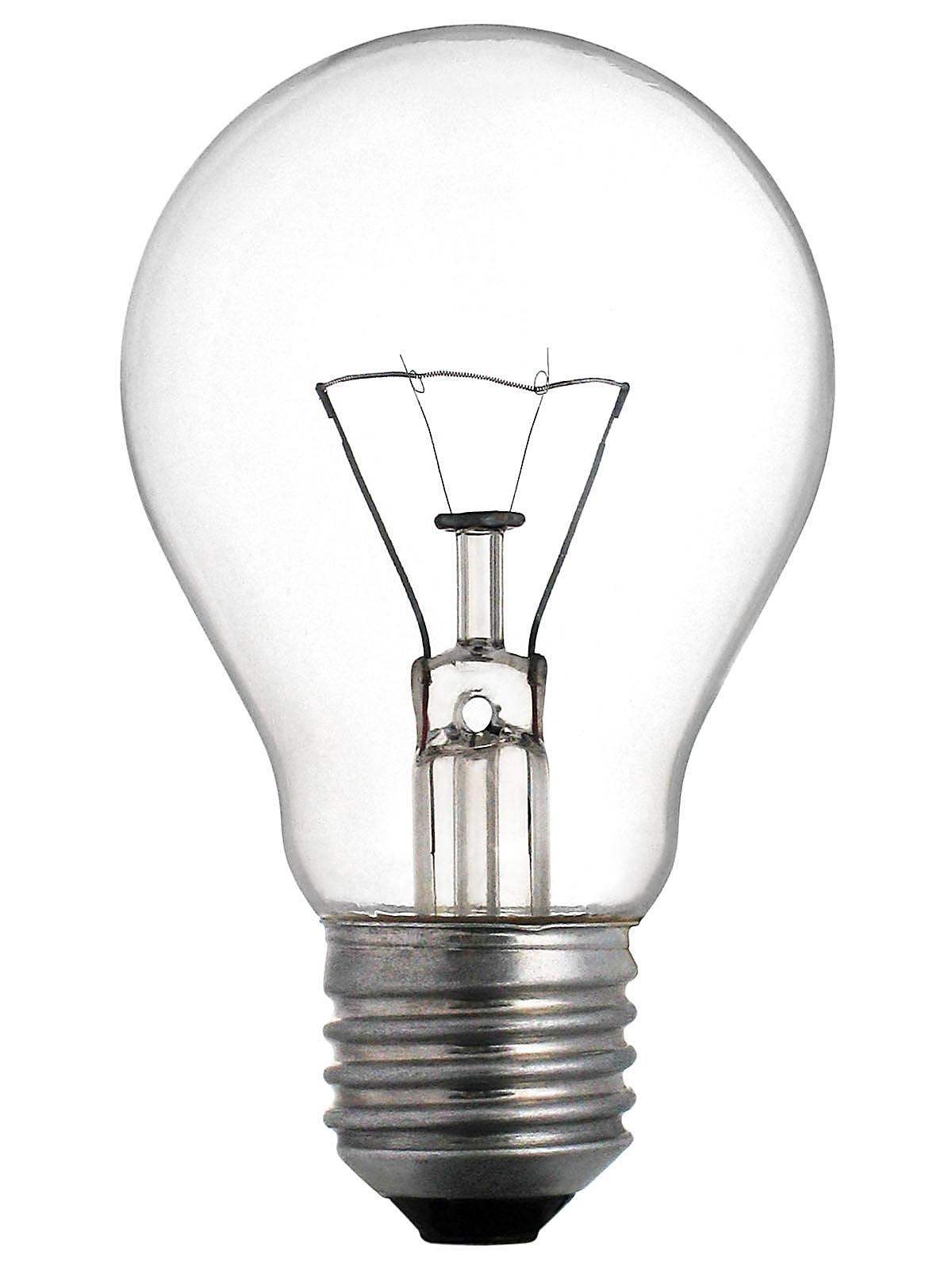 Купить Лампа накаливания 220В Е27, мощность 100 Вт — Фото №1
