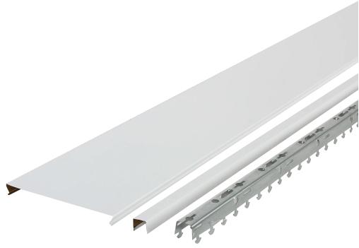 Комплект потолка Artens (белый матовый), 1.7х1.7 м