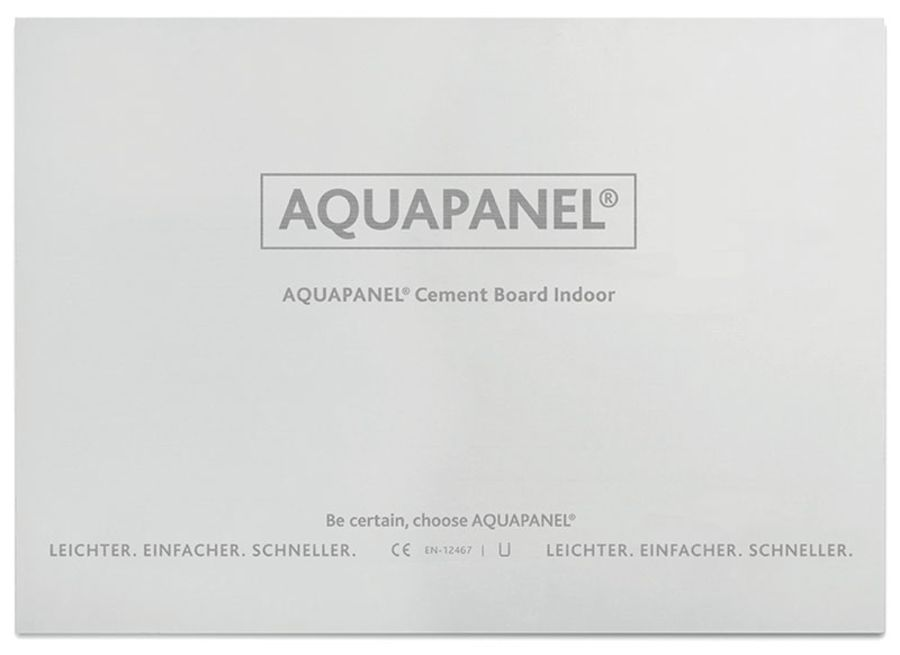 Купить Плита цементная Кнауф Аквапанель Внутренняя, 2400х900х12.5 мм