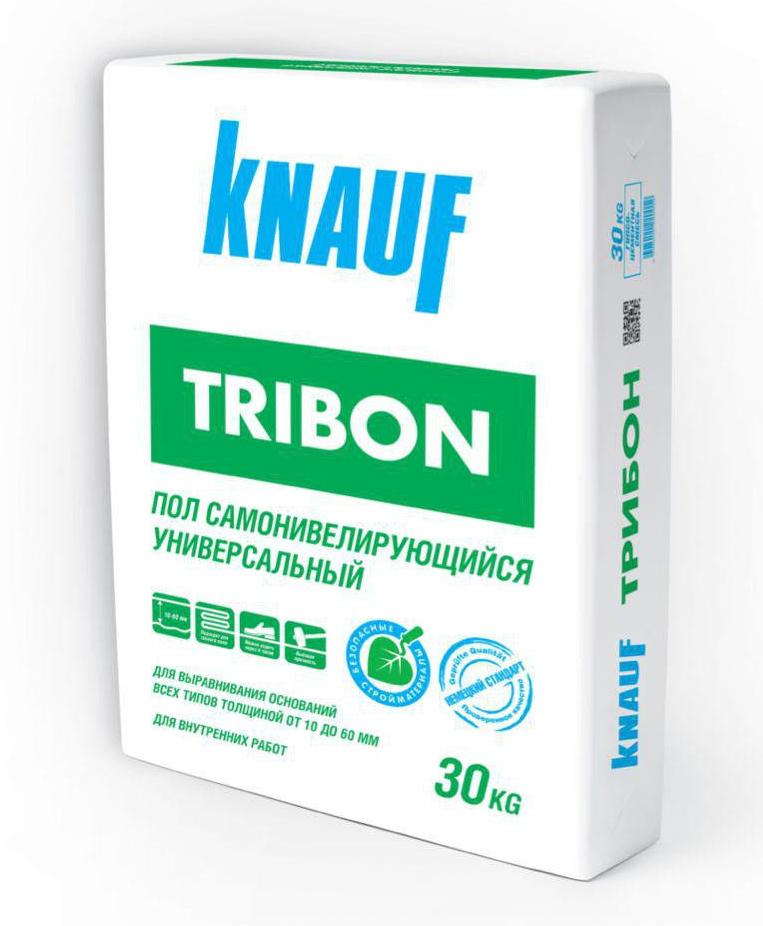 Купить Стяжка пола самовыравнивающаяся Knauf Трибон, 30 кг — Фото №1