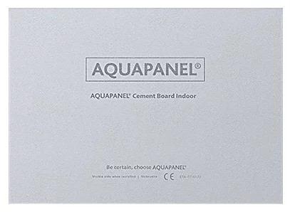 Купить Плита цементная Кнауф Аквапанель Внутренняя, 2400х1200х12.5 мм — Фото №1