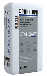 Купить Штукатурка известково-цементная Perfekta Фронтпро Стандарт, 25 кг — Фото №1