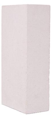 Кирпич силикатный одинарный рядовой полнотелый Павловский завод (белый), 250х120х65 мм