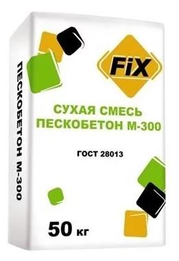 Купить Пескобетон Fix М300, 50 кг — Фото №1