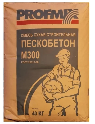 Купить Пескобетон Profmix М300, 40 кг — Фото №1