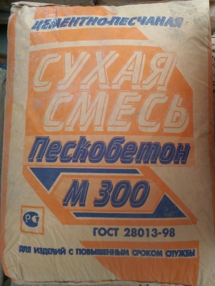 Купить Пескобетон Истра М300, 40 кг — Фото №1
