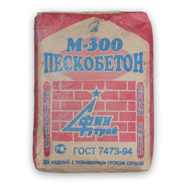Купить Пескобетон Финстрой М300, 40 кг — Фото №1