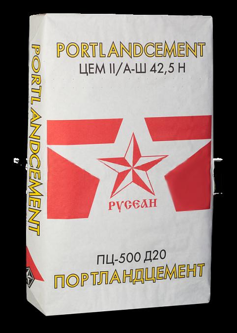 Купить Цемент Русеан М500 Д20, 40 кг — Фото №1