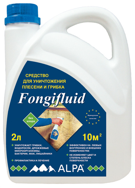 Противогрибковое средство Alpa Fongifluid, 0.5 л