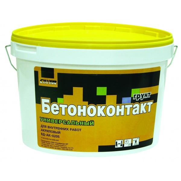 Купить Грунтовка для бетона Cover color Бетоноконтакт, 10 л — Фото №1