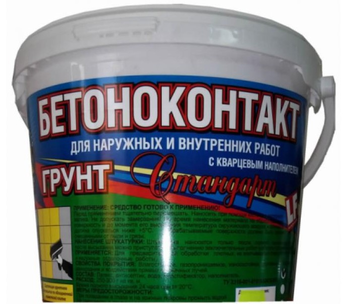 Купить Грунтовка для бетона Мастер Класс Бетоноконтакт Стандарт, 20 кг — Фото №1
