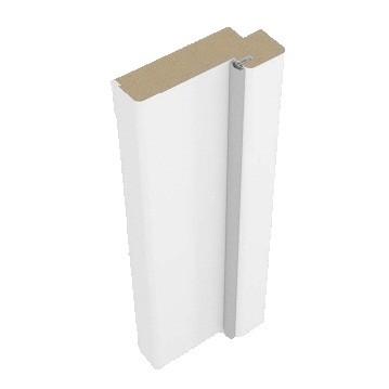 Стойка дверной коробки Belwooddoors Тип 50 эмаль белая фанерованная, 2100х71х28 мм